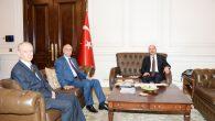 TZOB Genel Başkanı Bayraktar, İçişleri Bakanı Soylu'yu ziyaret etti