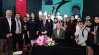 TYB Şeref Başkanı Yazar Mehmet Doğan Sakaryalı öğrencilerle buluştu