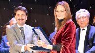 Milletvekili Üstün'Türk Dünyası Hizmet Ödülü'nü Ganira Paşayeva'ya takdim etti