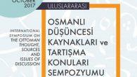 Osmanlı Araştırmaları Merkezinden Sempozyum