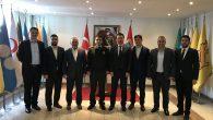 MÜSİAD' dan Sakarya İl Jandarma Alay Komutanı Cengiz Yiğit'e Ziyaret