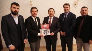 Sakarya GİAD Üyeleri Vali Balkanlıoğlu'nu Ziyaret Etti