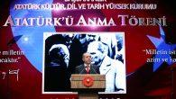 """""""BU MİLLET ŞAHADETİ HER ŞEYİN ÜZERİNDE GÖRDÜ"""""""