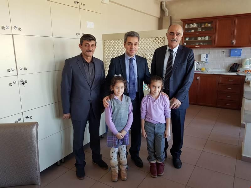 Kaymakamımız Yazıcı Kazım Karabekir İlköğretim Okulunda