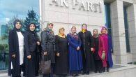 Ak Parti Arifiye Kadın Kolları Başkanı Genel Merkeze gitti