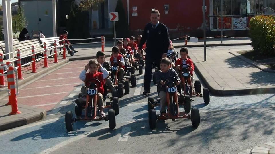Arifiye Bekir Sıtkı Öğrencilerinin Trafik Eğitimleri devam ediyor
