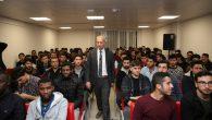 Dişli,Arifiye Muhammed Fatih Safitürk KYK'da kariyer günlerine konuk oldu