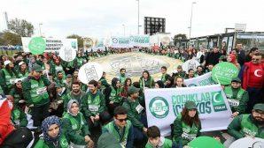 39. Avrasya Maratonu'na Yeşilay Sakarya Şubeside katıldı