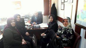 İlçemiz Sosyal Yardımlaşma ve Dayanışma Vakfı Müdürü TANIL'ı ziyaret ettiler