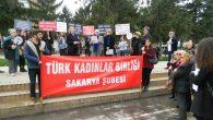 (TKB) Sakarya Şubesi Kadına şiddeti kınadı