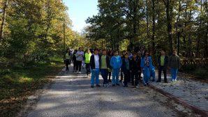 Arifiye Veysel Karani İHO öğrencilerinin,Tema Vakfı gönüllüleri ile doğa yürüşü