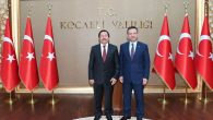 Vali Balkanlıoğlu'ndan Kocaeli Valisi Aksoy'a Ziyaret
