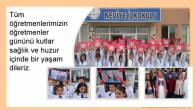 Arifiye Neviye İlkokulunda Öğretmenler günü