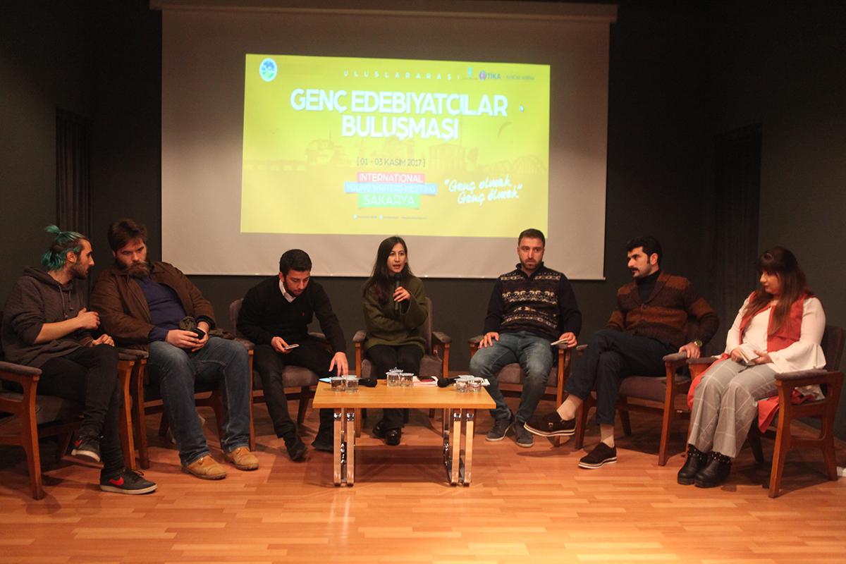 Uluslararası Genç Edebiyatçılar Buluşması başladı.