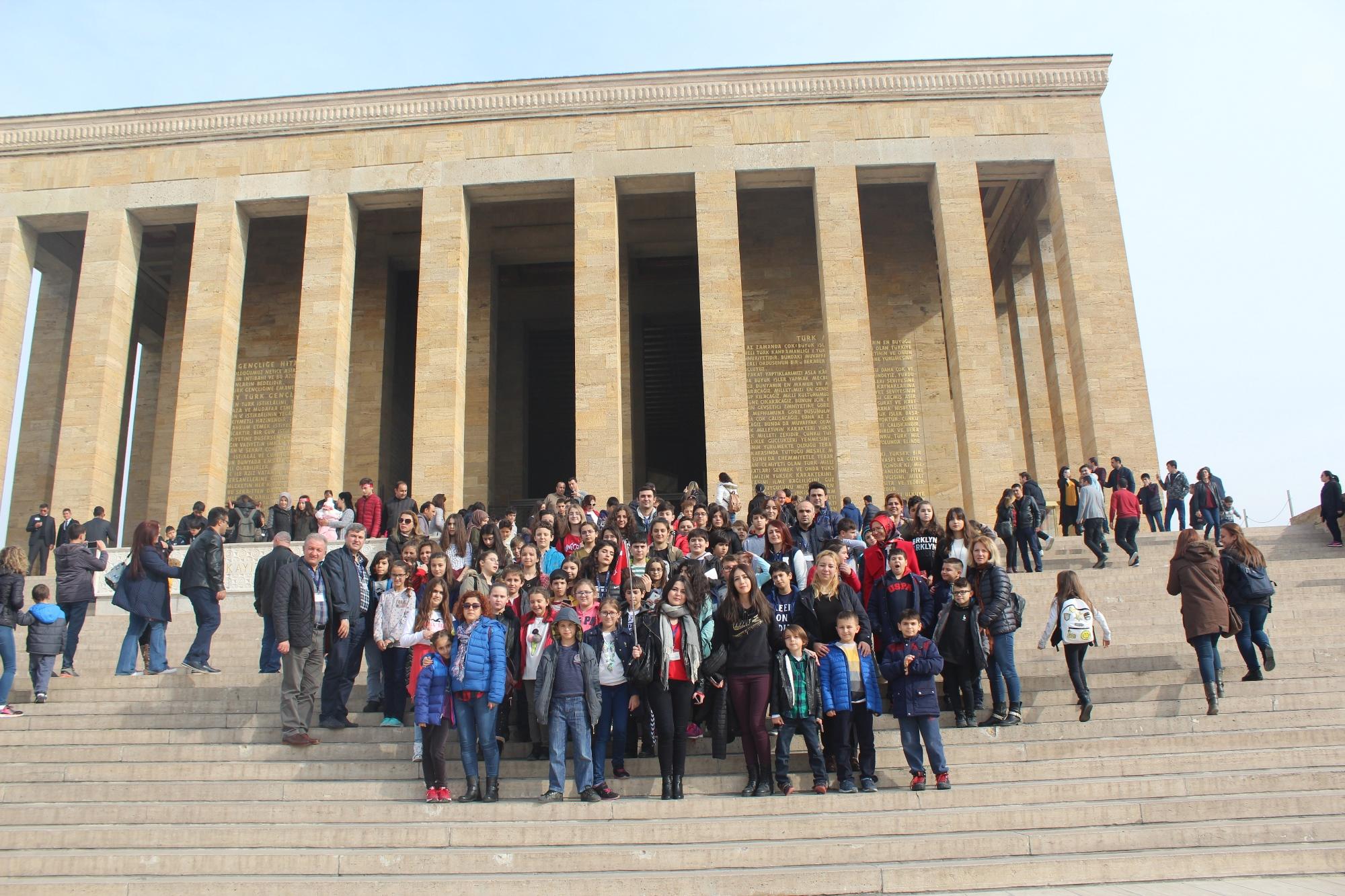 Bilnet Okulları Ata'nın Huzurunda