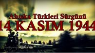 14 Kasım 1944 Ahıska Sürgünü