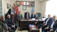 Milletvekili Üstün'den Yeni Başkan Başar'a tebrik ziyareti