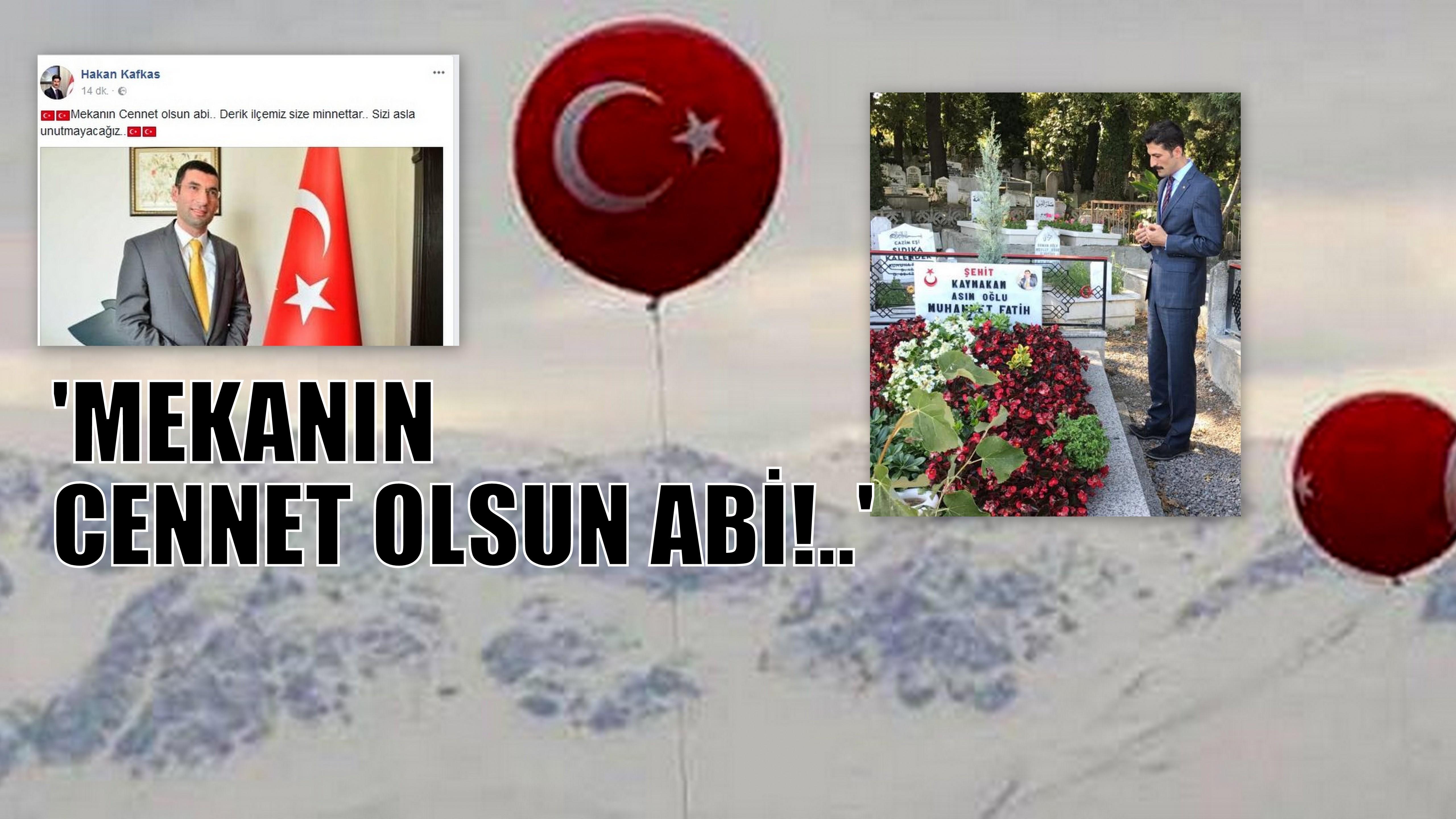 DERİK KAYMAKAMINDAN MESAJ!
