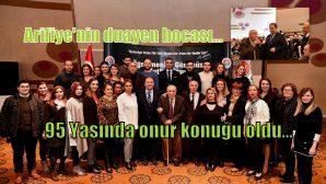Arifiye'nin Öğretmeni Ali Cengiz Hanoğlu onur konuğu oldu