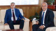 Başkan Toçoğlu TCDD Genel Müdürü İsa Apaydın'la görüştü