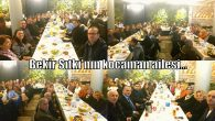 Arifiye Bekir Sıtkı'nın Öğretmenler Günü yemeği buluşması