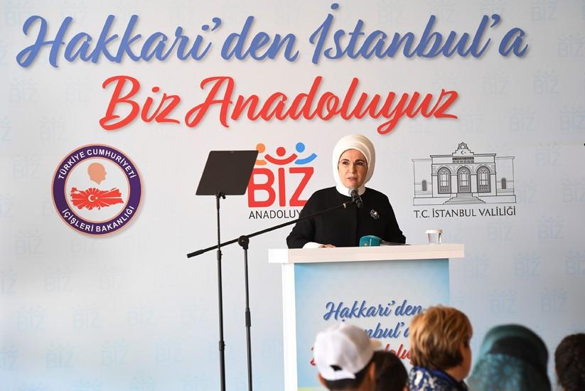 """""""Biz Anadoluyuz"""" projesi kapsamında Miniatürk'te buluşma"""