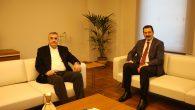 Başkan Toçoğlu, Milletvekili Yavuz'la AKOM'da buluştu.