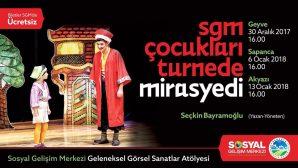 'Mirasyedi' SGM turnesine çıkıyor