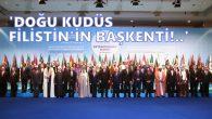 İslam İşbirliği Teşkilatından Tarihi Karar