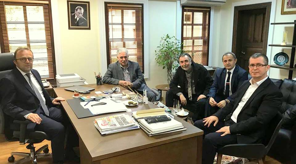 Arifiye Mezunları İBB Kültür A.Ş Genel Müdürü Rıdvan Duran'ı ziyaret etti.