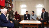 Vali Balkanlıoğlu'dan, İlçemiz Arifiye'de Asım Hocaya aile ziyareti.