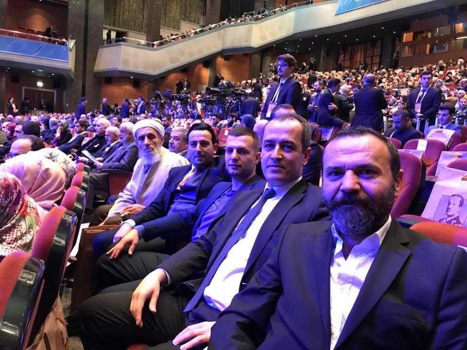 ASIM HOCA 'NECİP FAZIL ÖDÜLLERİ' TÖRENİNDE