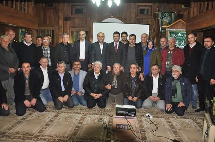 Şeyh Muslihiddin Sohbetlerinde Manavlar Anlatıldı