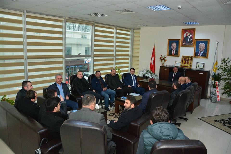 ARSİADER'den Başkan Karakullukçu'ya ziyaret