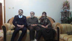 Göynük Kaymakamı Orhan Gazi Karakaş Asım Hocayı ziyaret etti
