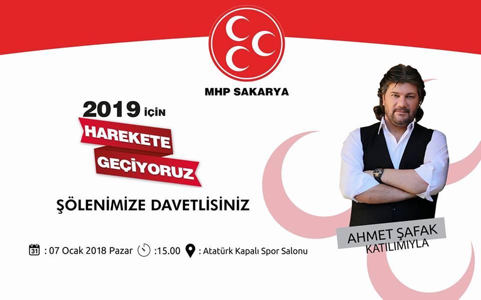 MHP Sakarya'dan'HAREKETE GEÇİYORUZ!..'buluşması
