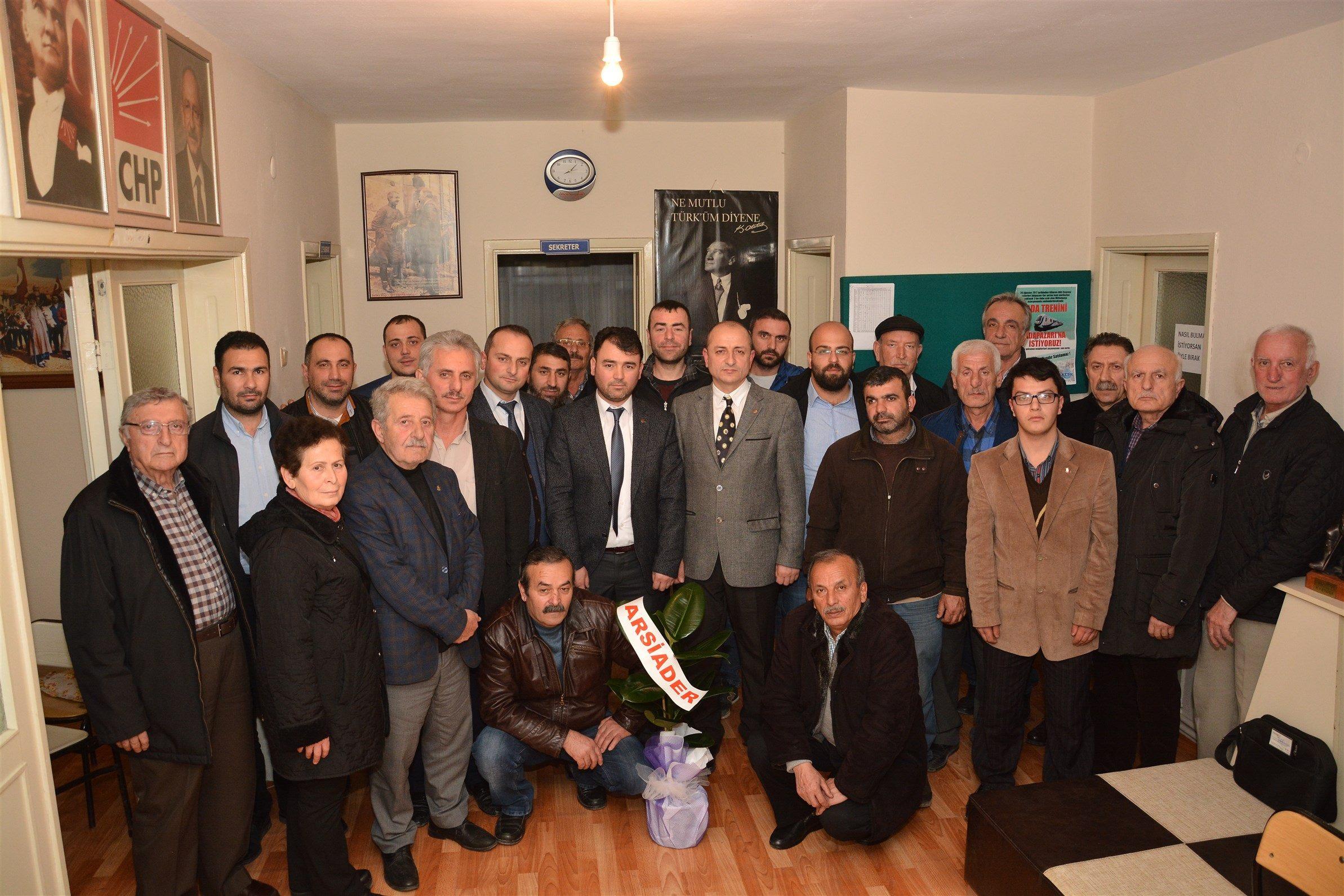 ARSİADER'den,CHP'ye ziyaret