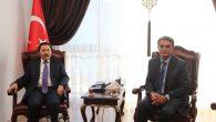 Vali Balkanlıoğlu'na Ziyaretler Sürüyor