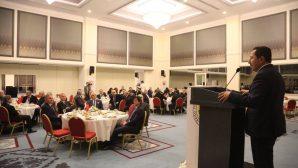 Vali Balkanlıoğlu SATSO Bütçe Yemeğinin Onur Konuğu Oldu
