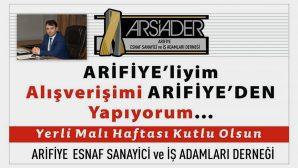 ARSİADER'DEN İLK KAMPANYA!..