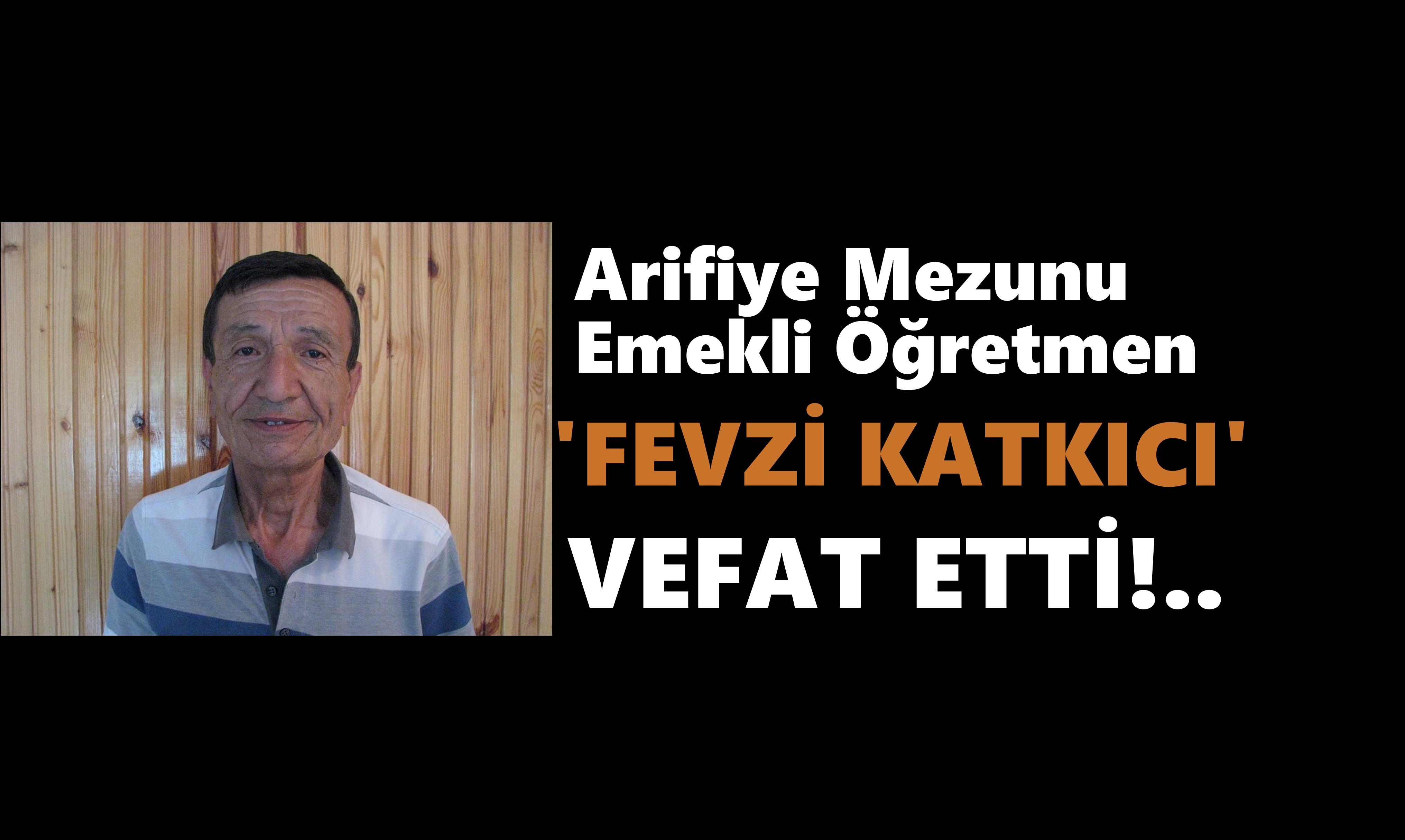 KATKICI AİLESİNİN ACI GÜNÜ!..