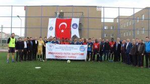 KYK Muhammet Fatih Safitürk yurdunda halı saha açılışı