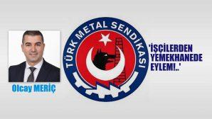 Türk Metal Sendikası'na bağlı işçilerden OTOKAR'da Çatal Kaşıklı Eylem