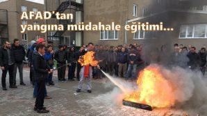 Arifiye KYK Yurdu Öğrencilerine 'Yangınlara Müdahale' Eğitimleri verildi.