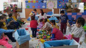 Arifiye Hacıköy ilkokulundan Iğdır'a yardım eli
