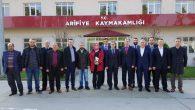 Ak Parti Arifiye İlçe Teşkilatından  Kaymakamımız Yazıcı'ya Ziyaret…