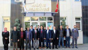Ak Parti Arifiye İlçe Yeni Yönetiminden Başkan Karakullukçu'ya Nezaket Ziyareti…