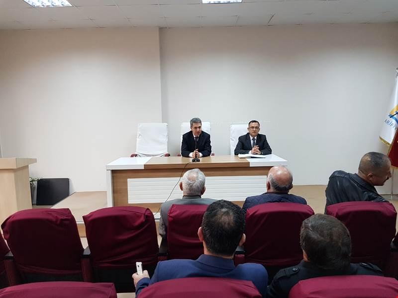 Arifiye'de Aralık Ayı Muhtarlar Toplantısı Yapıldı.