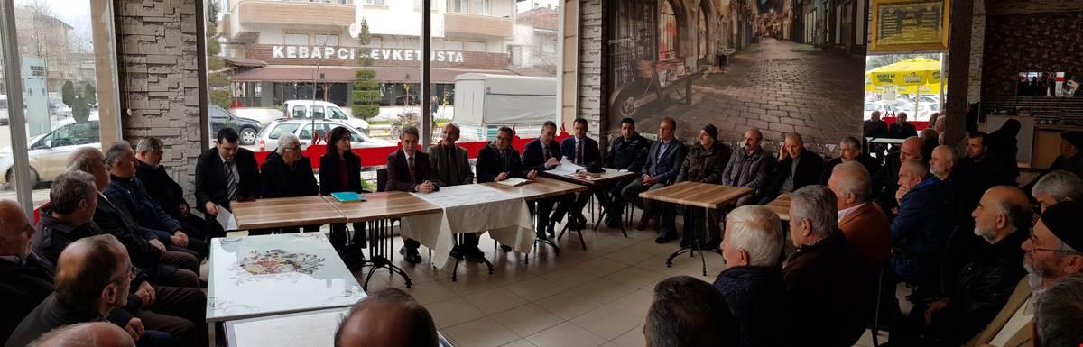 Arifbey Mahallemizde Halk Toplantısı Yapıldı
