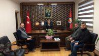 Kaymakamımız Yazıcı,İHH Temsilcilerini Kabul Etti.